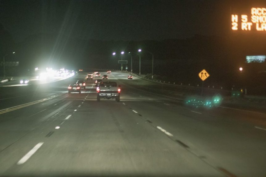Albuquerque, NM – Injury Accident on I-40 WB near Tramway