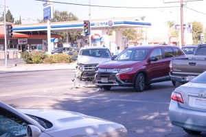 Albuquerque, NM – Two-Vehicle Crash into Building at Central & Dorado Pl