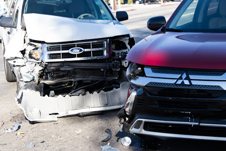 Albuquerque, NM – Car Crash at Broadway Blvd and Lead Ave