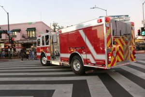 Fredonia, NY – Fire Incident near Fredonia State College Injures One