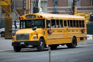 Brooklyn, NY – Two Injured in Bus Crash on Newport St
