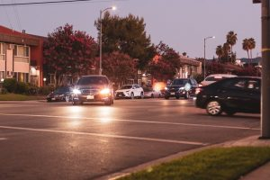 Albuquerque, NM – Car Crash at Pennsylvania St and Menaul Blvd
