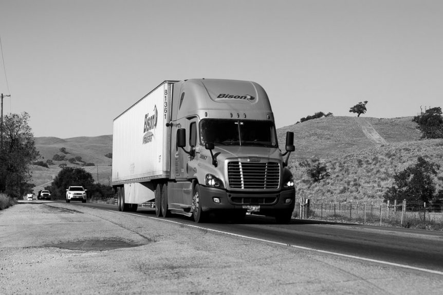 Wilmington, CA – One Injured in Truck Crash on E Lomita Blvd