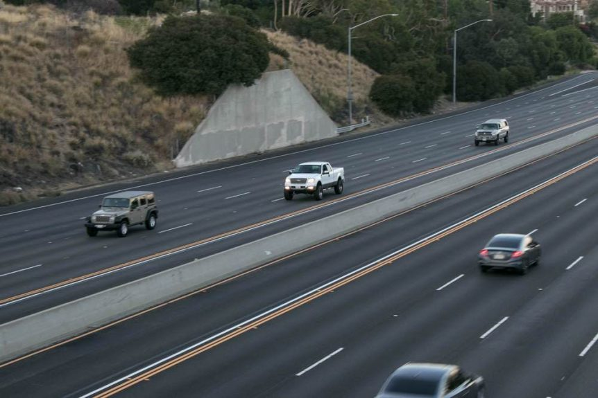 6/16 Albuquerque, NM – Car Crash with Injuries Reported on I-25 at Gibson Blvd
