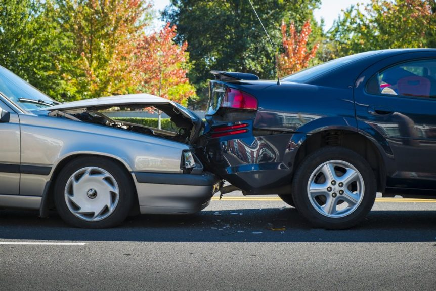 Albuquerque, NM – Car Crash at San Mateo Blvd & Central Ave Results in Injuries
