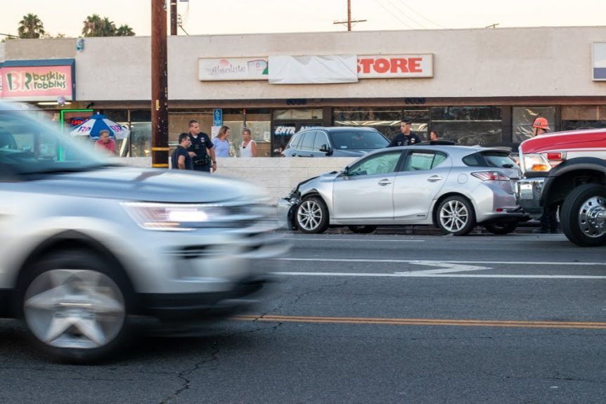 Albuquerque, NM – Auto Accident with Injuries at Gibson & Broadway Blvds