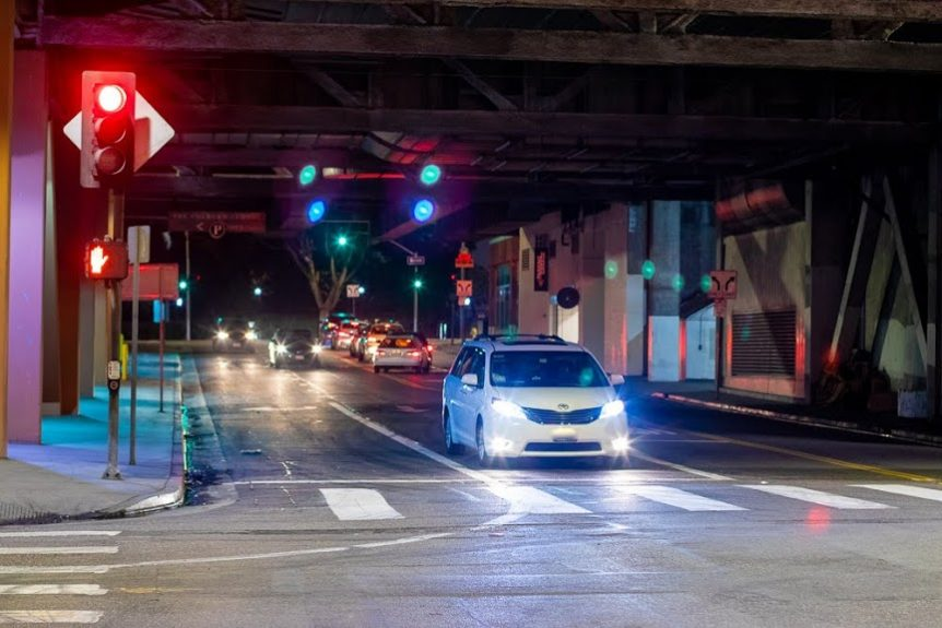 Baltimore, MD – Vehicle Collision with Injuries on St Paul St near E Biddle St