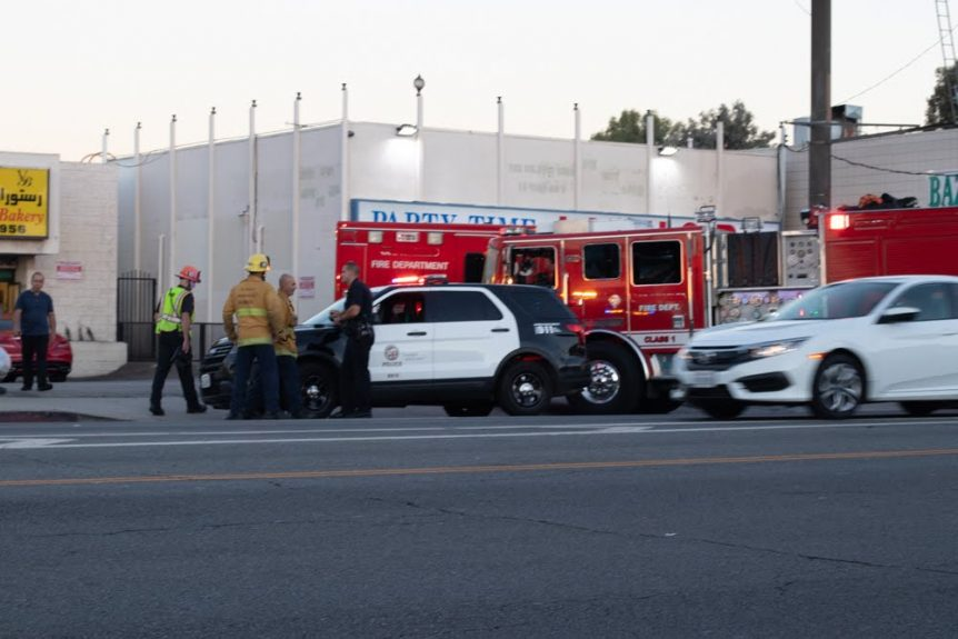 Albuquerque, NM - Accident at Lead Ave & Bryn Mawr Dr Results in Injuries