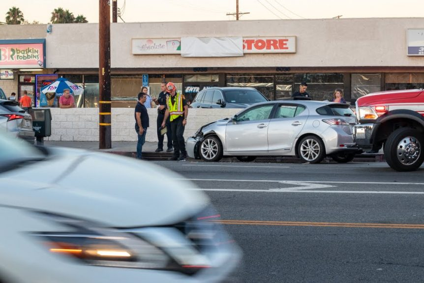 Albuquerque, NM – Injuries Reported After Crash at Wyoming Blvd & Central Ave
