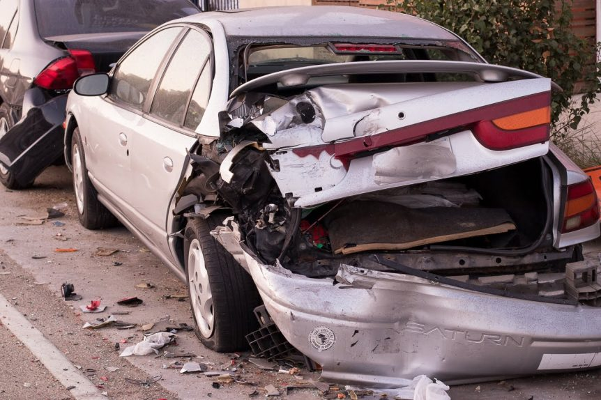 Gainesville, VA – Two Injured in Car Crash on I-66 near Exit 43