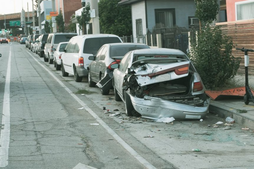 Baltimore, MD – Rollover Collision on N Broadway Leaves One Injured