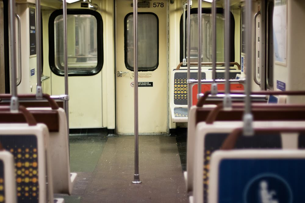 Bronx, NY - One Hospitalized After Subway Strikes Metal Barrier on Track